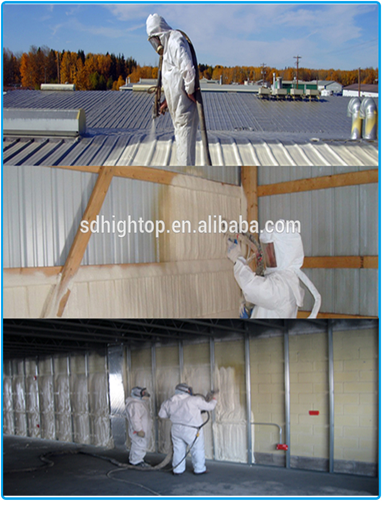 PU spray foam machine