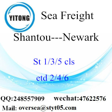 Shantou Port LCL Consolidation To Newark