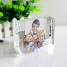Best Quality for China Acrylic Photo Frame,Acrylic Frames,Acrylic Picture Frames,Plexiglass Frames Supplier Acrylic Double Sided Magnetic Photo Frame supply to Netherlands Manufacturer