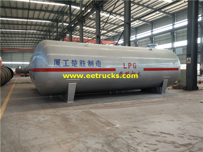 ASME 50m3 Aboveground LPG Tanks