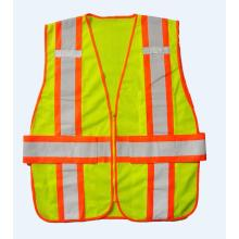 Safety vest with inside pockets