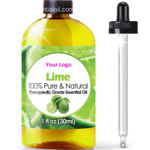 OEM Lime Essential Oil Therapeutic Grade