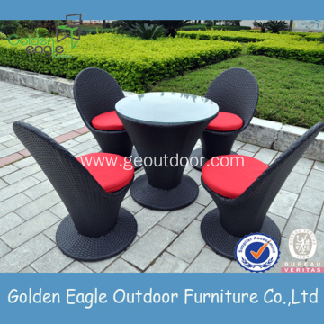 Outdoor Garden Rattan Dining Table and Chair Set
