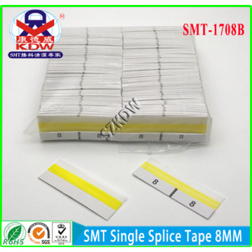 Goods high definition for Quality SMT Splice Tape SMT Single Splice Tape with a Guide 8mm supply to Martinique Factory