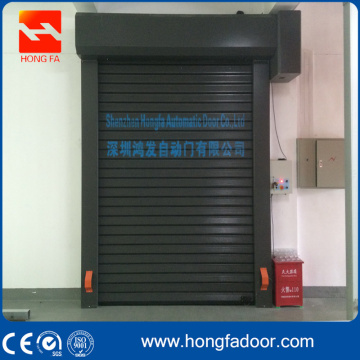 Einfache Aluminiumplatte Rapid Fast Roll Up Door