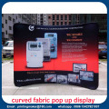 Curved Trade Show Exhibition Display Printing