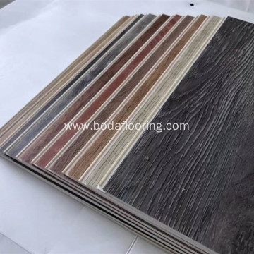 Indoor Usage Simple Color Surface Treatment Lvt Flooring