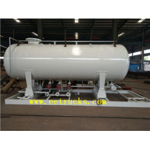 China for 3 Tons Lpg Skid Mounted Station 40cbm 20ton Skid Mounted LPG Filling Plants supply to Yemen Suppliers