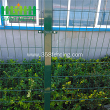 Square Post PVC Wire Mesh Fencing