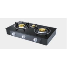 3 Burner Gas Stove Glass Top Glass