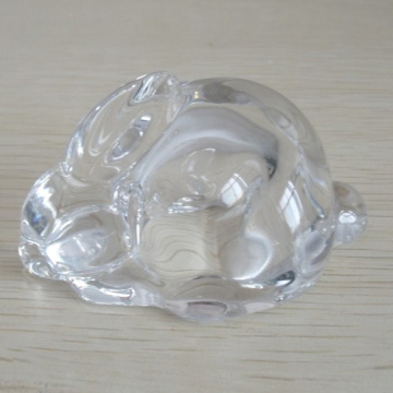 Clear Glass Bunny Shape Trinket For haome Ornament
