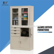 High Quality Industrial Factory for Swing Door Cupboard Steel medical storage book filing cabinet export to Lao People's Democratic Republic Wholesale