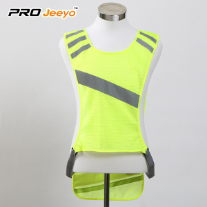 EL Sport Adjustable Reflective safety  Vest Clothing