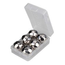 BPA Free Stainless Steel Diamonds Ball Chilling Stones