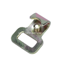 Flat J Hook For Tie Downs