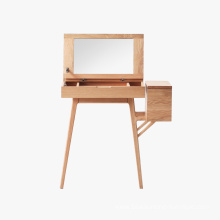 Factory Price for Oak Dresser Stool Wooden Storage Make up Dressing Table export to Sierra Leone Manufacturers