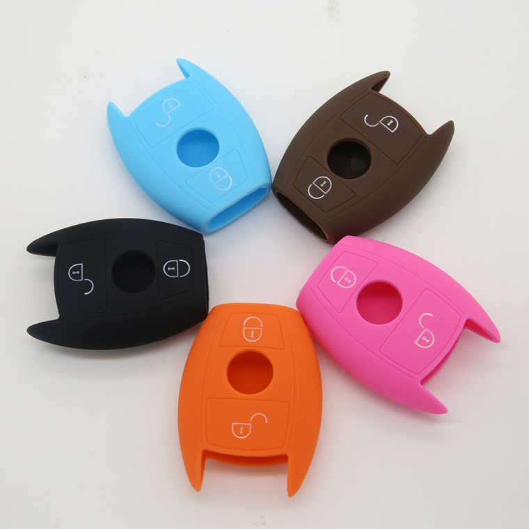 2 Buttons Silicon Rubber Cover