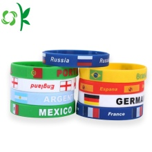 Fashion Colorful Promotional Silicone Wristband Custom Logo