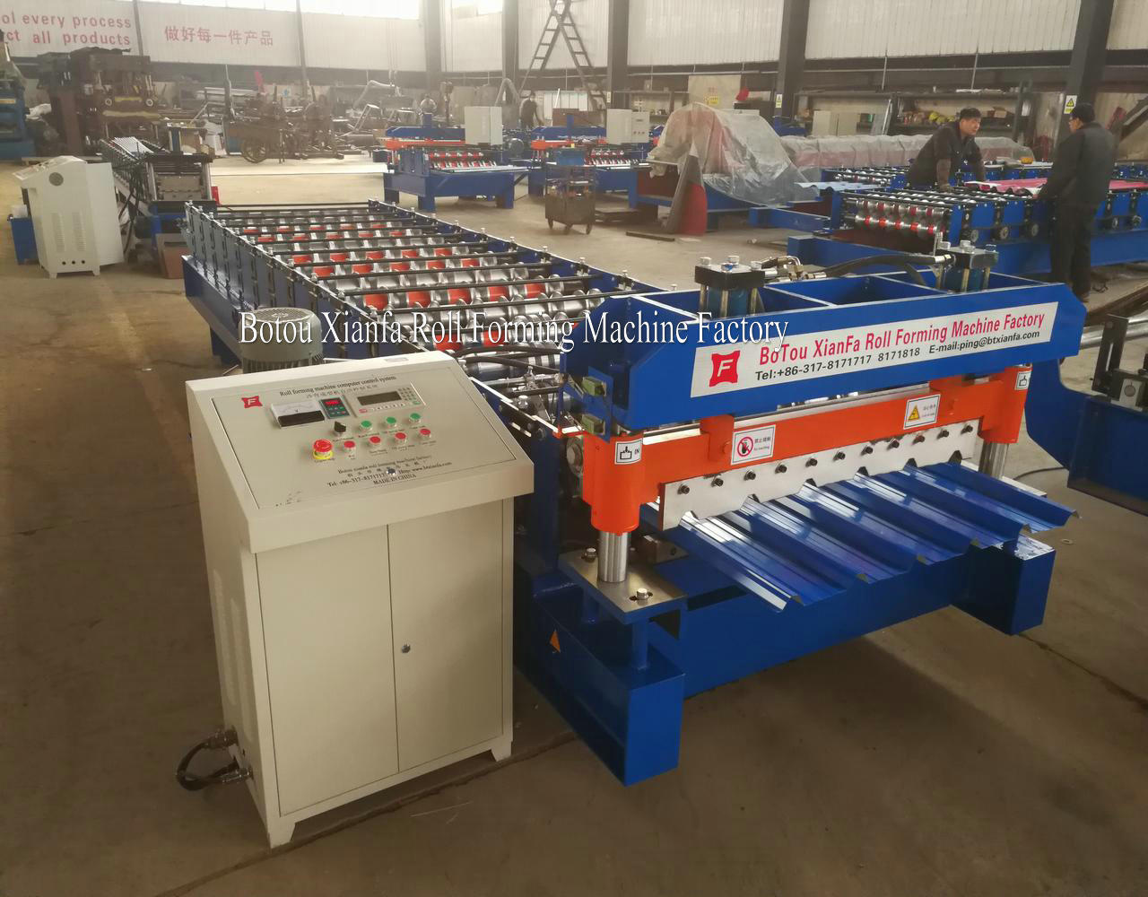 Roof Ibr Sheeting Machine