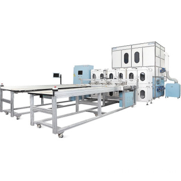 Best Quality for Quilt Folding Machine, Smart Duvet Filling Machine, Quilt Filling Machine, Pillow Filling Machine, Automatic Bedding Making Machinery Leading China Factory Automatic Bedding Making Machinery supply to China Factories