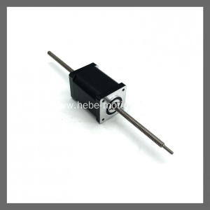NEMA14/35mm hybrid linear stepper motor through shaft type