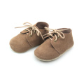 Soft Sole Leather Baby Shoes Children Oxford Footwear