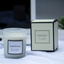 High quality scented organic soy candle