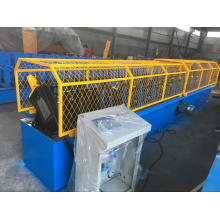 Small hat post roll forming machine