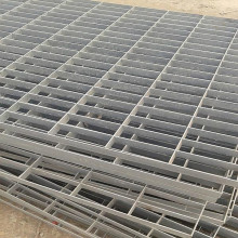 Europe style for for Drainage Canal Galvanized Steel Grating Galvanized Steel Bar Grating Platform export to Kuwait Factory