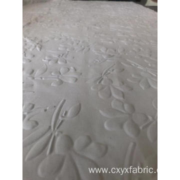 Polyester 3d emboss fabric in leaves design