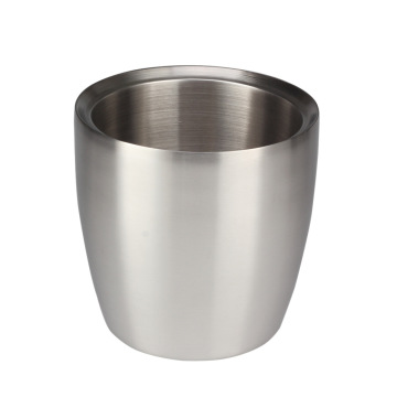 DoubleWall Insulated StainlessSteel IceBucket for CoolDrinks