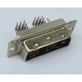 DVI 18+1 Male Angle DIP Type Connector