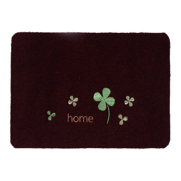 Essential household fashion embroidery customized mat