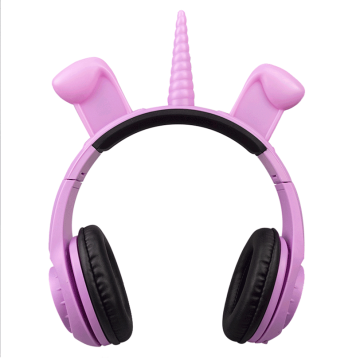 LED colourful lighting headphone free sample headphones