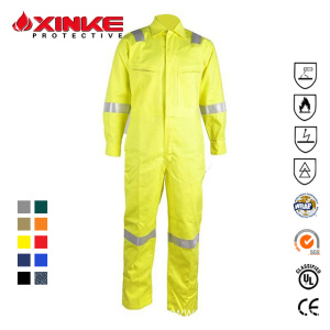Grosir FR Cotton Nylon Hi Vis Keselamatan Workwear