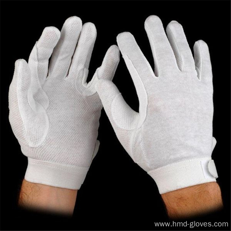 Ceremonial Uniform White Cotton Gloves