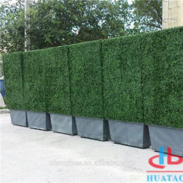 Plastic Artificial Grass Fence Artificial Green Hedge