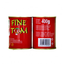 Double Concentrated Tomato Paste in Tins
