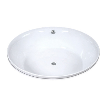 Round Drop-in Bath Tub in Acrylic