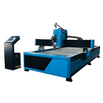 Table cnc plasma arc cutting and drilling machine