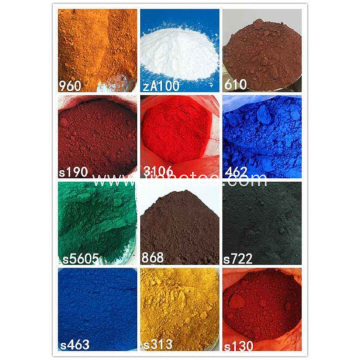 Popular Iron Oxide Pigment For Brick