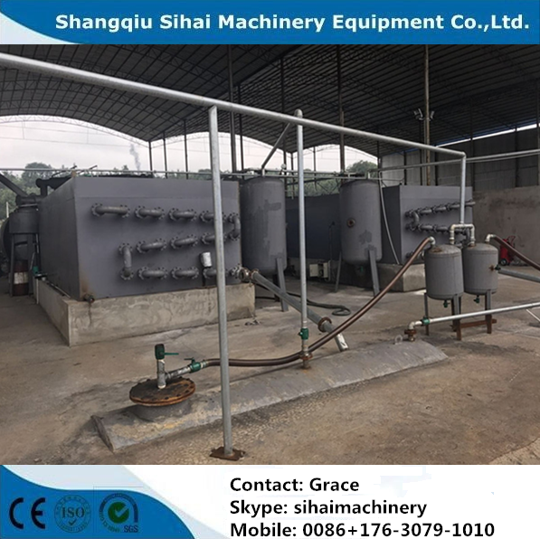waste plastic to furnace oil equipment
