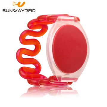 13.56Mhz NFC Plastic RFID Wristband for Swimming pool