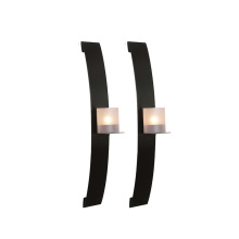 wall candle holder set 2pcs
