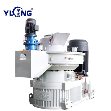 Vertical ring die wood pellet energy saving machine