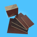 Brown 5mm Phenolic Cotton Cloth Fabric Swatch