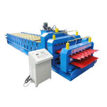 Double Deck Roll Forming Machinery For Steel