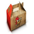 Food Boxes Customized Logo Printed Cup Cakes Packaging