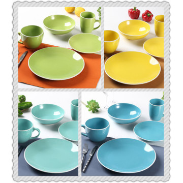 COLORFUL DINNER SET
