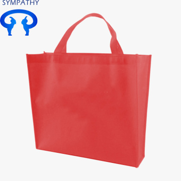 Custom green bag non-woven shopping bag